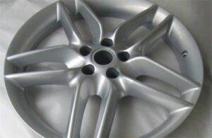 CNC Machined Part - Carwheel
